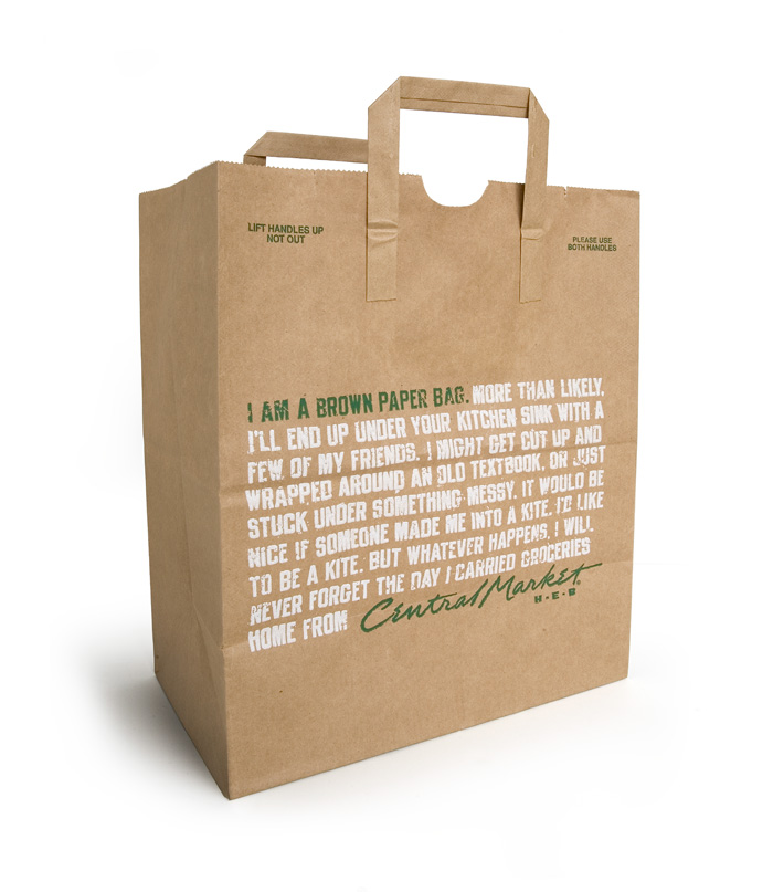Central Market Grocery Bag