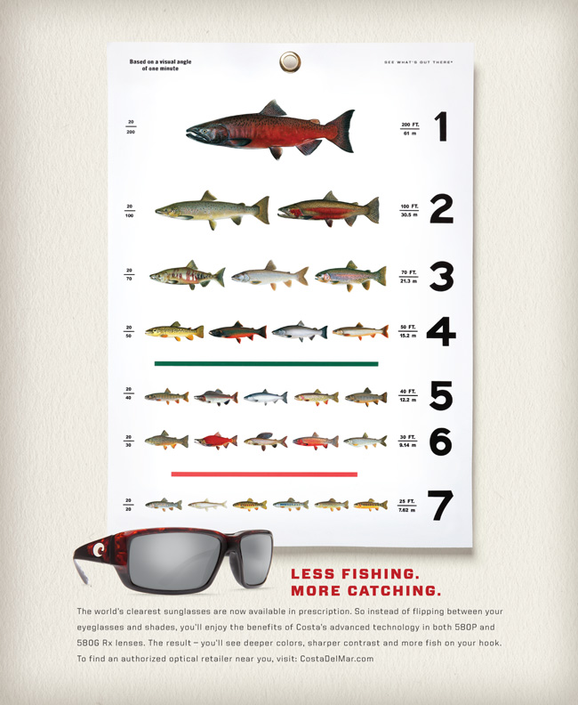 Costa Rx Print Ads