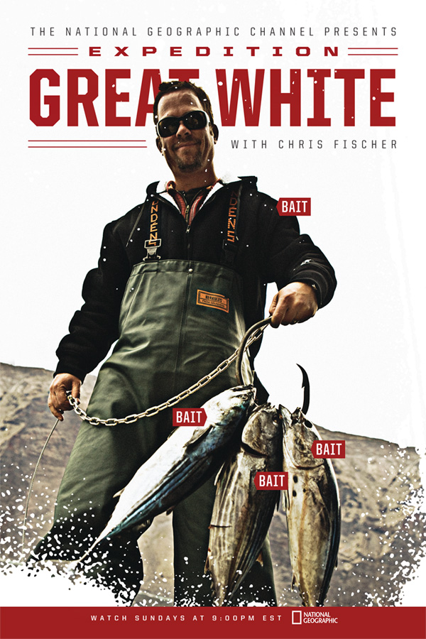 Costa Great White Poster