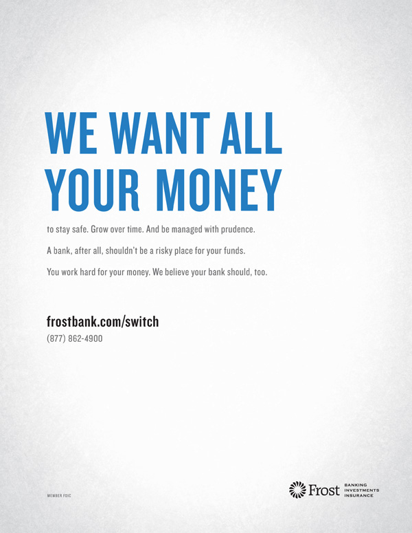 Frost Bank Ad Campaign